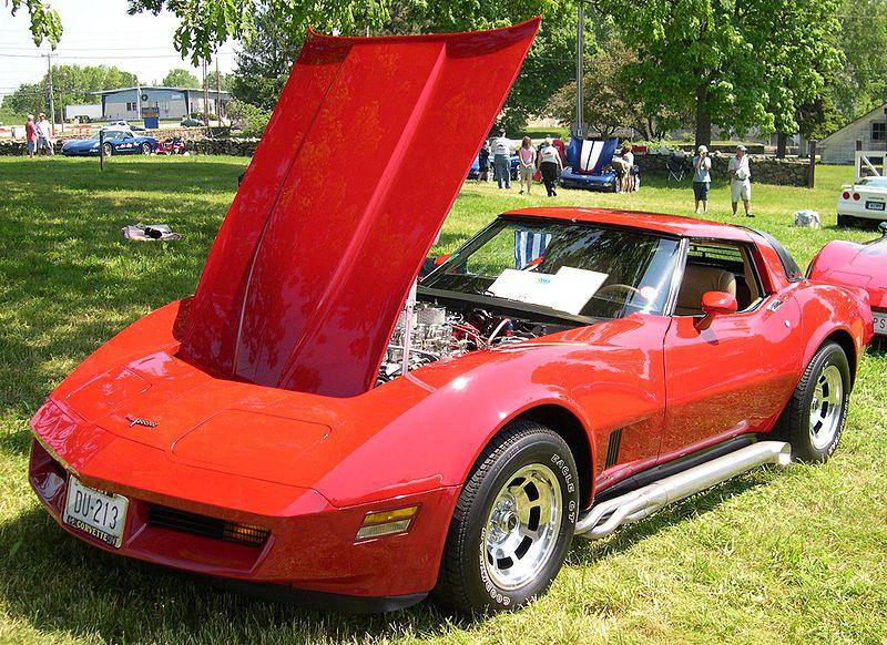 File:1981 Chevrolet Corvette last day.jpg