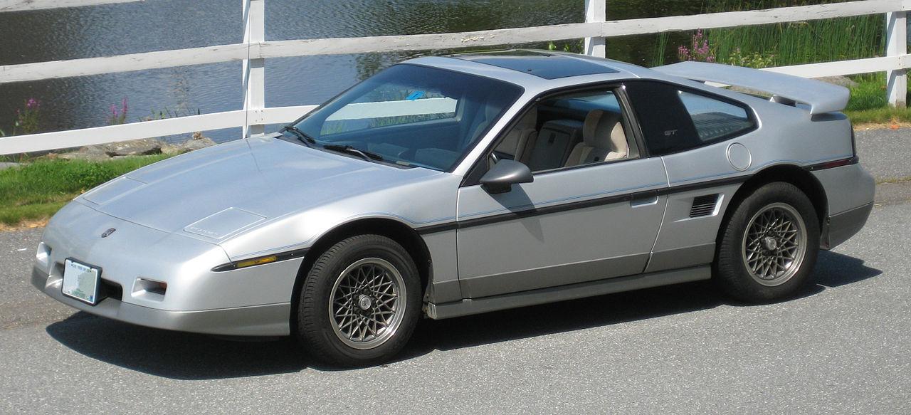 Pontiac Fiero Wikipedia - Fotos de coches - Zcoches