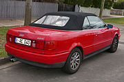 1995 Audi Cabriolet (8G) 2.6 E convertible (2015-08-07) 02.jpg