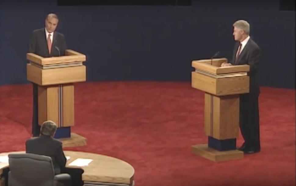 1996 1st Presidential Debate H