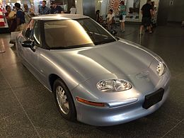 1997 General Motors EV1 at Smithsonian National Museum of American History 3of8.jpg