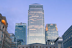 1 Canada Square From Cabot Square.jpg