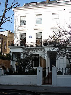 Drayton Gardens residential street in South Kensington/Chelsea, London SW10
