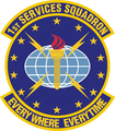 1 Services Sq emblem.png
