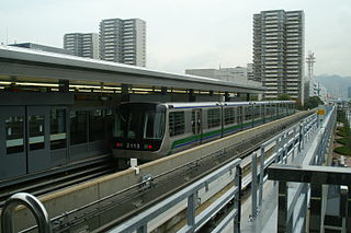 Kobe New Transit 2000 series Japanese train type