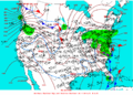 2003-01-03 Surface Weather Map NOAA.png