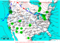 2005-02-12 Surface Weather Map NOAA.png