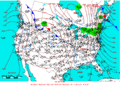 2006-01-15 Surface Weather Map NOAA.png