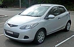 2007-2009 Mazda 2 (DE) Neo 5-door hatchback 02