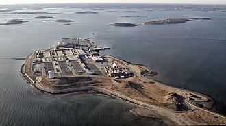 Bella Bond murder case - Deer Island, where the body was located