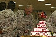2008 Marine Corps Birthday Cake MNF-West-081110-M-8941H-001