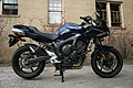 2009-02-10 2008 Yamaha FZ6 on stand.jpg