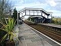 2009 at St Erth station - footbridge.jpg