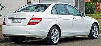 Mercedes-Benz C-Class - Pre-facelift Mercedes-Benz C 200 CGI sedan