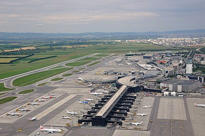 How to get to Flughafen Wien with public transit - About the place