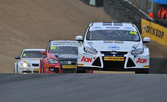 British Touring Car Championship - Touring Cars at a BTCC during race at Brands Hatch, April 2011