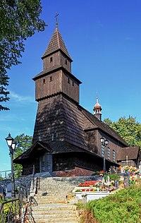 2012 Powiat pszczyński, Pielgrzymowice, Kościół św. Katarzyny (03).jpg