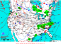 2013-02-13 Surface Weather Map NOAA.png