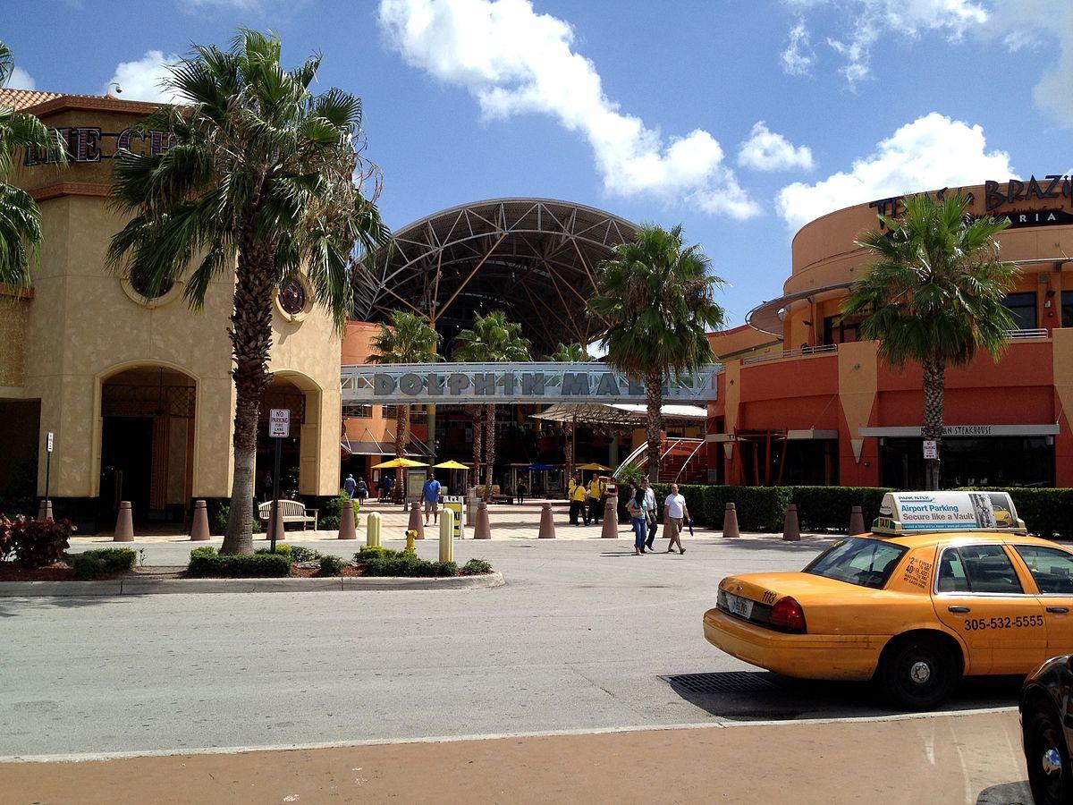 D B Dolphin Mall Dolphin Mall in Miami ...