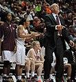 2013 Virginia Tech - Robert Morris - Dennis Wolff coaching from the bench.jpg