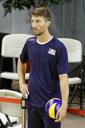 Nicolas Maréchal - Image: 20140826 press conference FIVB Volleyball Men's World Championship Nicolas Maréchal 01