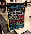2014 Dragon Con - Caribou Coffee themed menu (14937008148).jpg