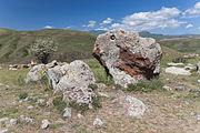 2014 Prowincja Sjunik, Zorac Karer, Prehistoryczny kompleks megalityczny (023).jpg