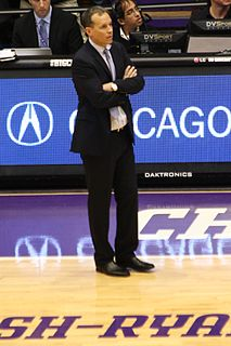 Chris Collins (basketball) American basketball player and coach
