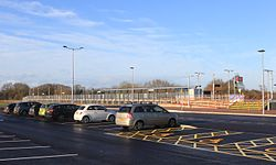 2015 at Cranbrook station - car park.JPG