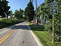 2016-08-20 17 17 31 View north along Maryland State Route 84 (Trevanion Road) just north of Uniontown Road in Uniontown, Carroll County, Maryland.jpg