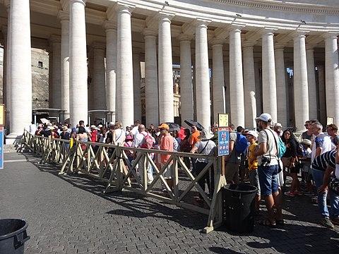 Saint Peter Square Vatican