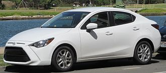 Toyota Yaris - 2016 Scion iA sedan, similar to Yaris sedan (Canada), Yaris R (Mexico), Yaris iA (U.S.)