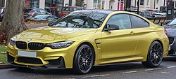2017 BMW M4 Competition Package 3.0 Front.jpg