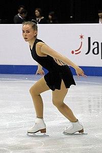 2017 World Junior Figure Skating Championships Juni Marie Benjaminsen jsfb dave7649.jpg