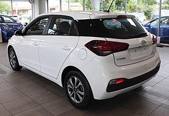 Hyundai i20 - 2018 Facelift (5-door)