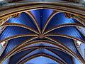 211 Santuari de la Misericòrdia (Canet de Mar), sostre de volta de la nau.JPG