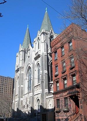 Emerson John Moore - St Charles Borromeo Church, Harlem