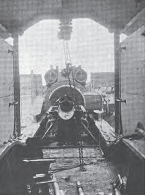 "21 cm SK ""Peter Adalbert"" - The breech and loading system of a ""Peter Adalbert"""