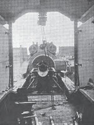 "21 cm SK ""Peter Adalbert"" - The breech and loading system of a ""Peter Adalbert"""