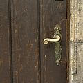 2382 Muzeum Architektury - klamka przy drzwiach wejściowych. Foto Barbara Maliszewska.jpg