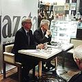 25.11.2014r., Poznan, Jacek Jaskowiak, Ryszard Grobelny, debata Gazeta Wyborcza.jpg