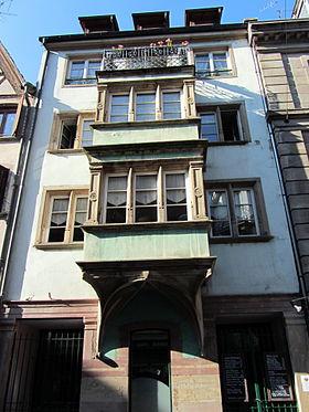 Maison au 25 rue du jeu des enfants strasbourg wikimonde for Maisons du monde strasbourg