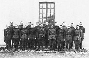 278th Aero Squadron - Pilots of the 278th Aero Squadron, Croix de Metz Aerodrome, Toul, France
