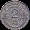 2 francs Morlon revers.png