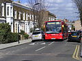 308 Bus, April 2013 Elderfield Road Clapton (12165082796).jpg