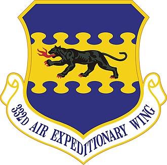 332d Air Expeditionary Wing - 332d Air Expeditionary Wing emblem