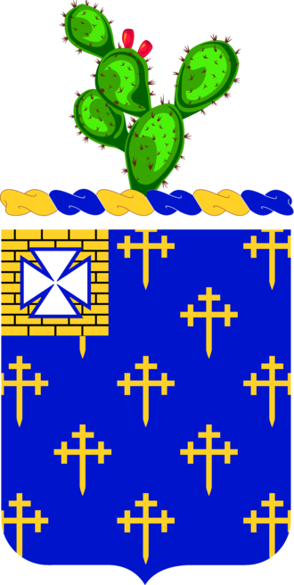 34th Infantry Regiment (United States) - Coat of arms