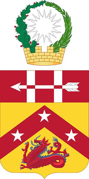 Coats of arms of U.S. Air Defense Artillery Regiments - Image: 3 ADA COA