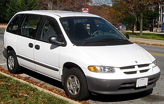 Chrysler minivans (NS) - 1997 Dodge Caravan, base model SWB