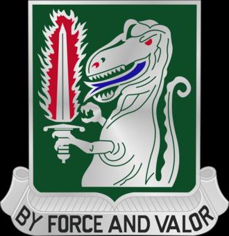 40th Cavalry Regiment (United States) - Image: 40 Cav Rgt DUI